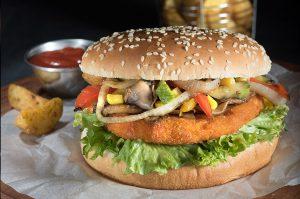 Burger Λαχανικών