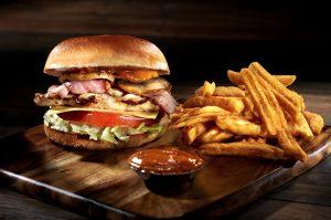 Burger με Φιλέτο Κοτόπουλο