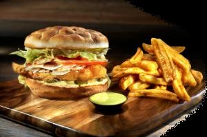 stohos-foods-hamburger-crispy-chicken-football-with-fries