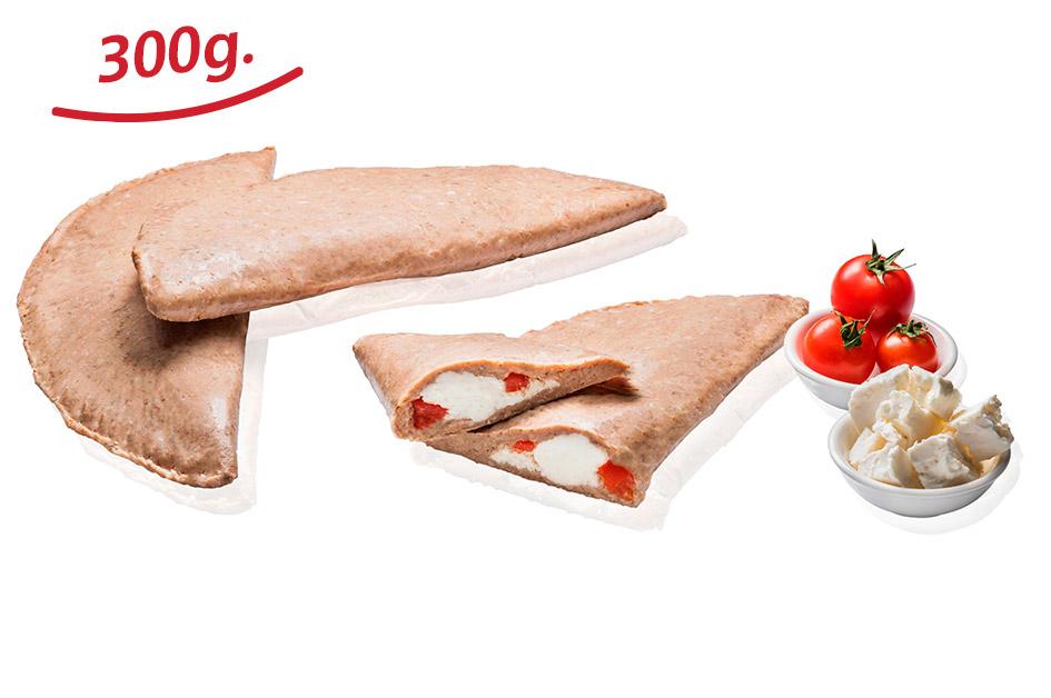 Μπιφτέκι Γεμιστό με Φέτα και Ντομάτα